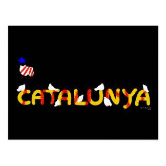 Catalunya Pau i Llibertat. Postcard