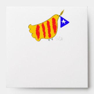 Catalunya Pau i Llibertat sobres Envelope