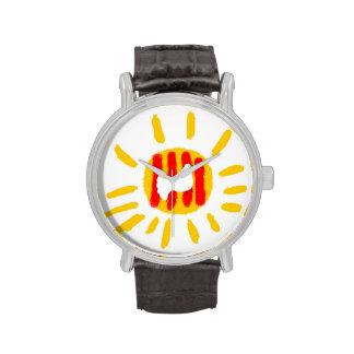 Catalunya Sun, símbolo patriótico, Cataluña Reloj