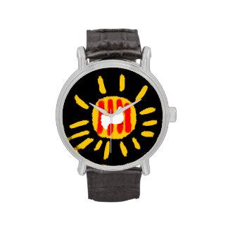 Catalunya Sun, símbolo patriótico, Cataluña Relojes