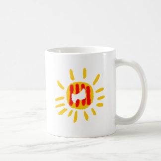 Catalunya Sun, sol. Coffee Mug