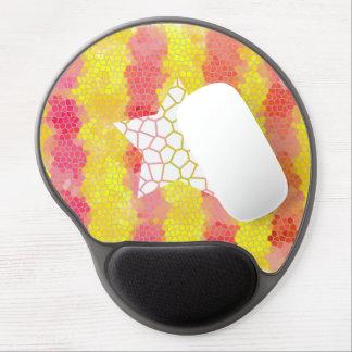 Catalunya trencadis gel mousepad. gel mouse pad