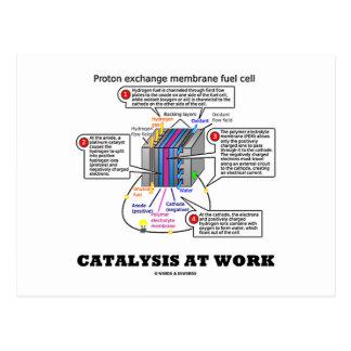 Catalysis At Work (Proton Exchange Membrane Fuel) Post Card