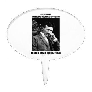 Catalyst For Second Industrial Revolution N. Tesla Cake Picks