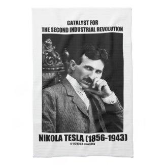 Catalyst For Second Industrial Revolution N. Tesla Towel