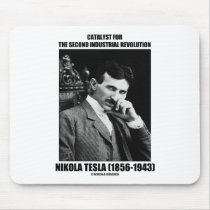 Catalyst For Second Industrial Revolution N. Tesla Mousepads
