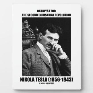 Catalyst For Second Industrial Revolution N. Tesla Plaque
