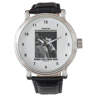 Catalyst For Second Industrial Revolution N. Tesla Wristwatch