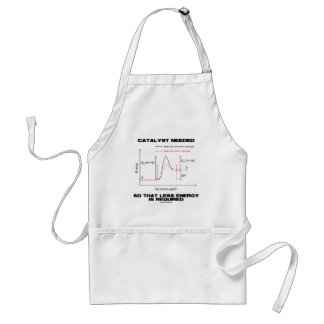 Catalyst Needed So That Less Energy Is Required Adult Apron