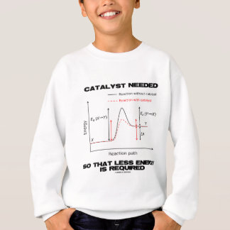 Catalyst Needed So That Less Energy Is Required Sweatshirt