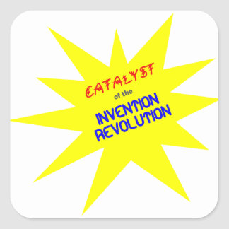 Catalyst of the Invention Revolution Stickers