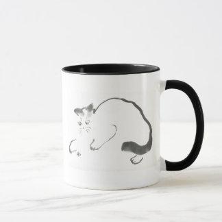 Catalyst - Sumi-e cat Mug