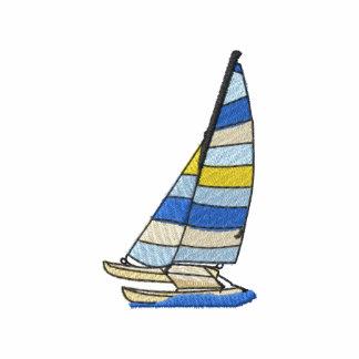 Catamarán Camiseta Polo Bordada