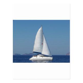 Catamaran Catchup Postcard