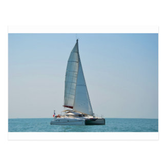 Catamaran Clara Postcard