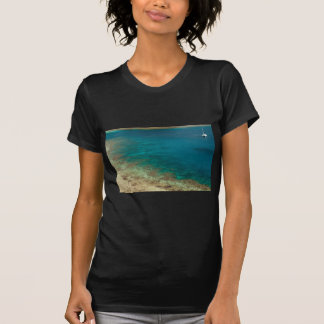 catamarán de la navegación de Fiji Camisetas
