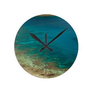 catamarán de la navegación de Fiji Reloj De Pared