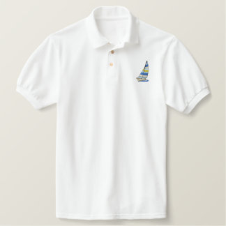 Catamaran Embroidered Polo Shirt