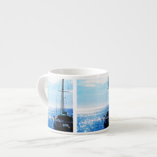 Catamaran in Beautiful Dominica Waters Espresso Cup
