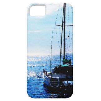 Catamaran in Beautiful Dominica Waters iPhone SE/5/5s Case