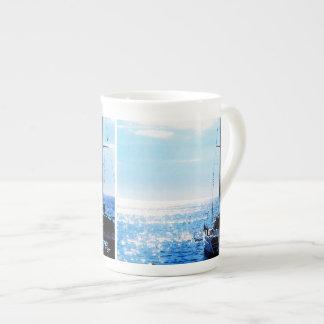 Catamaran in Beautiful Dominica Waters Tea Cup