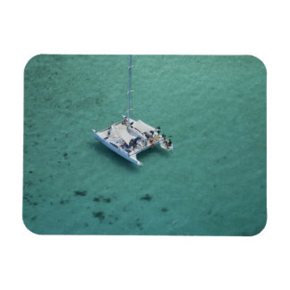 Catamarán, islas de Mamanuca, Fiji, South Pacific Imanes Flexibles