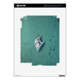 Catamarán, islas de Mamanuca, Fiji, South Pacific Pegatina Skin Para iPad 3