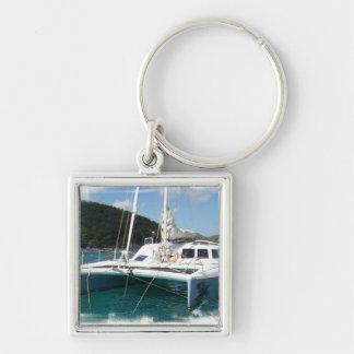 Catamaran Keychain