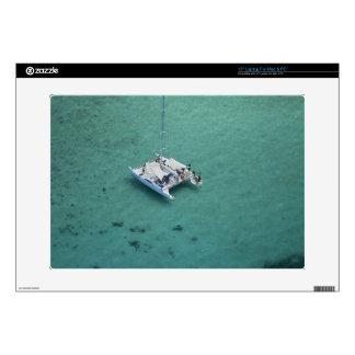 Catamaran, Mamanuca Islands, Fiji, South Pacific Laptop Decals