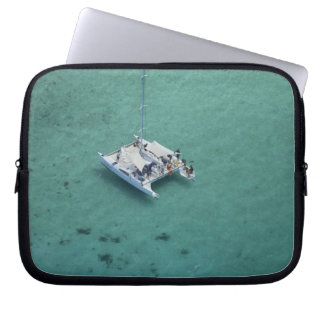 Catamaran, Mamanuca Islands, Fiji, South Pacific Laptop Sleeve