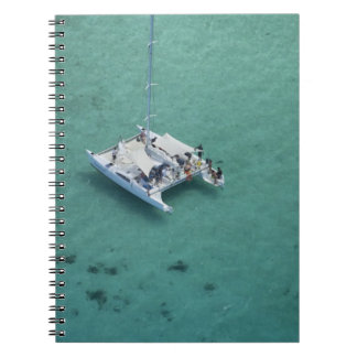 Catamaran, Mamanuca Islands, Fiji, South Pacific Notebook