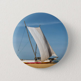Catamaran, Negombo Beach, Sri Lanka Pinback Button