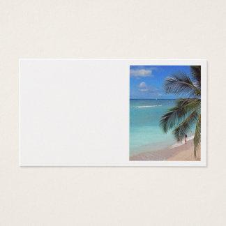 Catamaran off Waikiki Beach Business Card