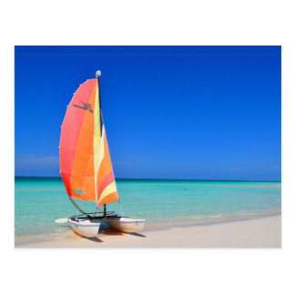 Catamaran Postcard