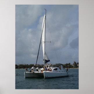 catamaran poster