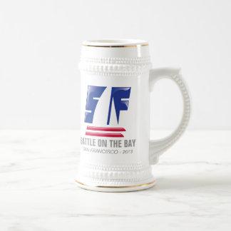 Catamaran Sailing_Battle on the Bay™_San Francisco Beer Stein