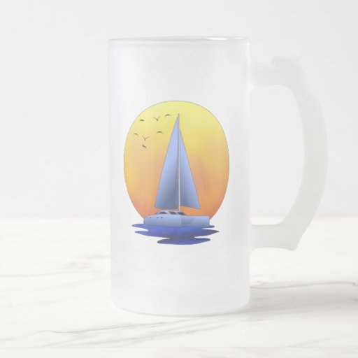 Catamaran Sailing Coffee Mug