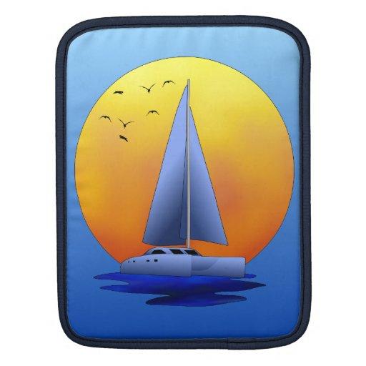 Catamaran Sailing iPad Sleeve