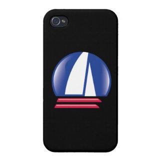 Catamaran Sailing_Pontoon Racing_Blue Moon_black Cases For iPhone 4