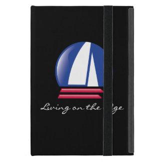 Catamaran Sailing_Pontoon Racing_Blue Moon_black iPad Mini Case