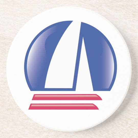 Catamaran Sailing_Pontoon Racing_Blue Moon Sandstone Coaster