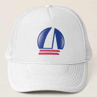 Catamaran Sailing_Pontoon Racing_Blue Moon Trucker Hat