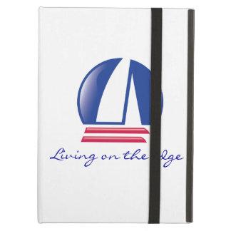 Catamaran Sailing_Pontoon Racing_Blue Moon_white iPad Air Covers