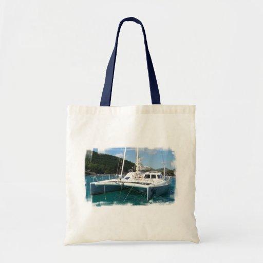 Catamaran Small Tote Bag