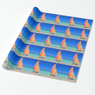 Catamaran Wrapping Paper