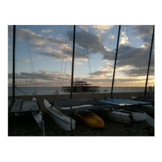 Catamarans An Kayak Postcard