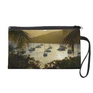 Catamarans and sailboats wristlet purses