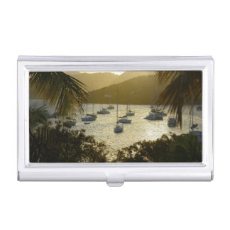Catamarans and sailboats business card case