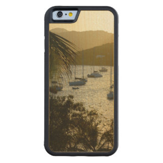 Catamarans and sailboats carved maple iPhone 6 bumper case
