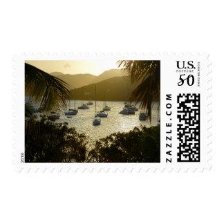 Catamarans and sailboats postage